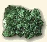 Malachite untreated
