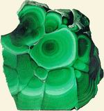 Malachite cultivated